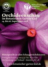 Orchideenschau-Plakat